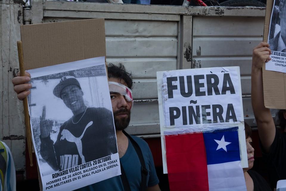 Piñera «gobierna para unos pocos cada vez más ricos»