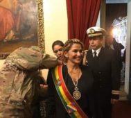 Jeanine Áñez, golpista autoproclamada de Bolivia