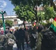 En Bolivia no hay tensión, hay un golpe de Estado