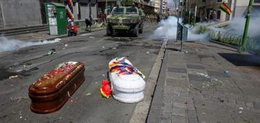 Bolivia: la elocuente imagen que da la vuelta al mundo