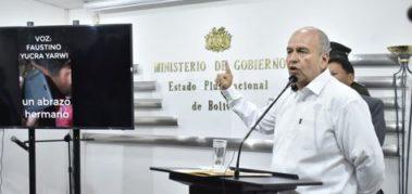 Detuvieron a Murillo, ministro durante la dictadura de Bolivia