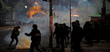 Evo denunció 30 asesinatos por la represión en Bolivia