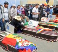 Dictadura rechaza expertos en Derechos Humanos en Bolivia