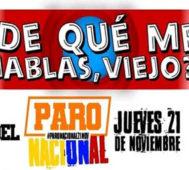 El 21 N en Colombia: ¡Vamos a protestar, no a festejar! – Por Maureén Maya