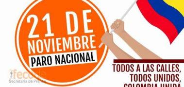 ¿Por qué paran y marchan los colombianos este 21N?