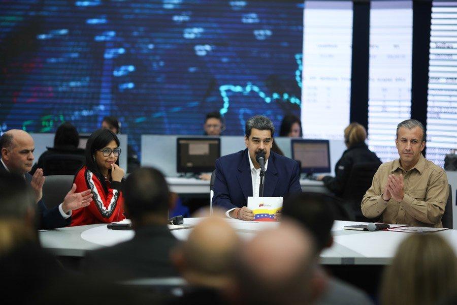 Venezuela: más de 100 mil comercios se suman al Petro