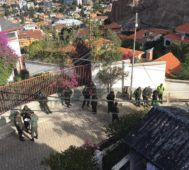 Dictadura boliviana hostiga la embajada de México en La Paz