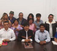«Comunidad internacional, no abandonen a Bolivia»