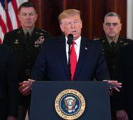 Trump pidió a la OTAN que se involucre en Medio Oriente