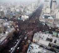 Varios millones de iraníes lloraron a Soleimani