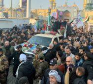 Miles de personas lloran en Irán e Irak al general Soleimani