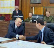 Putin en Damasco: «se ven señales claras de paz en Siria»