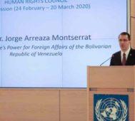 Venezuela denunció en la ONU el «terrorismo» de Washington