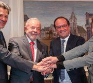 Lula da Silva fue nombrado ciudadano de honor en París