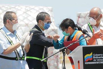 Pandemia: Venezuela recibe 55 toneladas de ayuda china