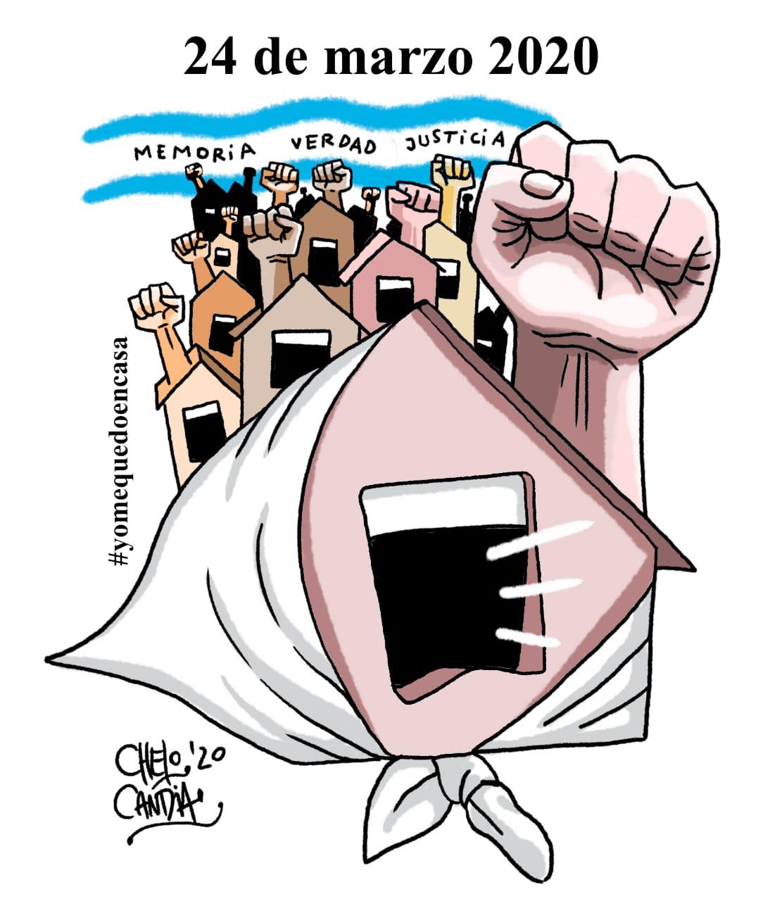 Argentina, en cuarentena, recordó el último Golpe