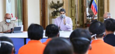 Maduro anuncia medicamento que anula la COVID-19