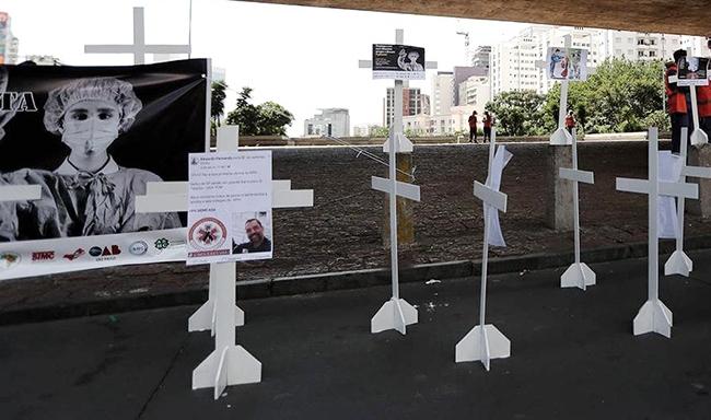 Brasil: Julio fue el mes con más muertes por coronavirus
