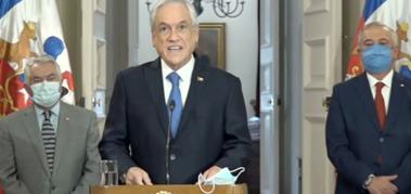 Piñera: «Carabineros es una institución fundamental»