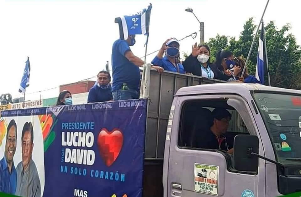 Con caravanas, comenzó en Bolivia la campaña electoral