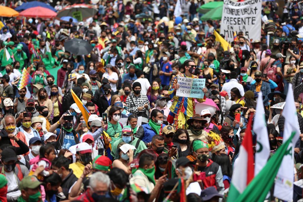 Colombia vive en las calles otro día de Paro Nacional