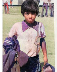 Maradona de chico