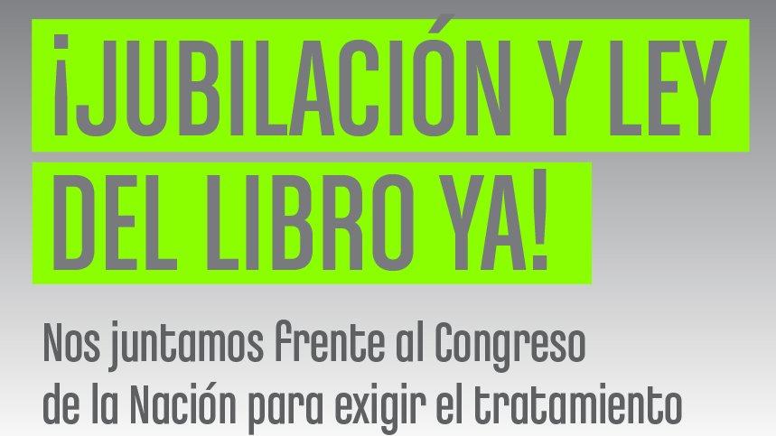 Con una marcha, impulsan en Argentina la Ley del Libro