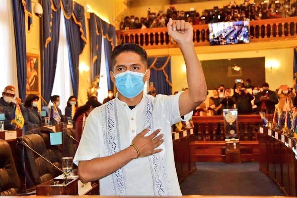 Bolivia: joven cocalero e indígena preside el Senado