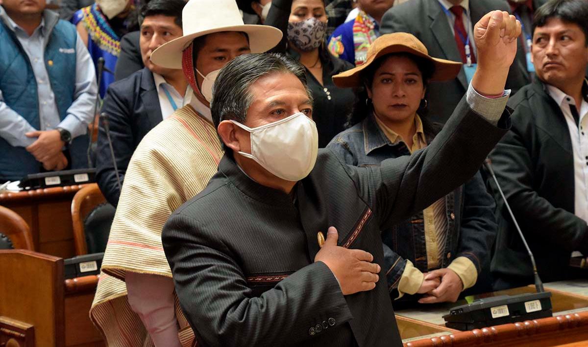 Bolivia: el histórico discurso de David Choquehuanca