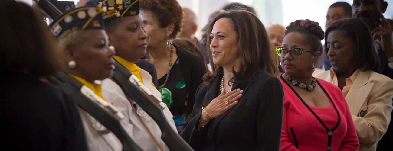 Kamala Harris, vicepresidenta que genera más expectativas