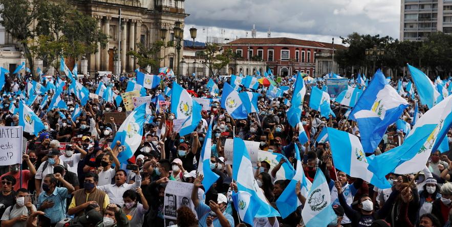 Guatemala: protestas logran frenar el Presupuesto 2021