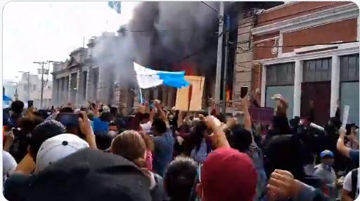 Más protestas en Guatemala y el Gobierno está en la mira