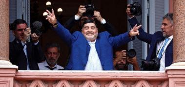 Dolor en Latinoamérica por la muerte de Diego Maradona