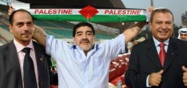 Diego Maradona y su apoyo a Palestina y su pueblo