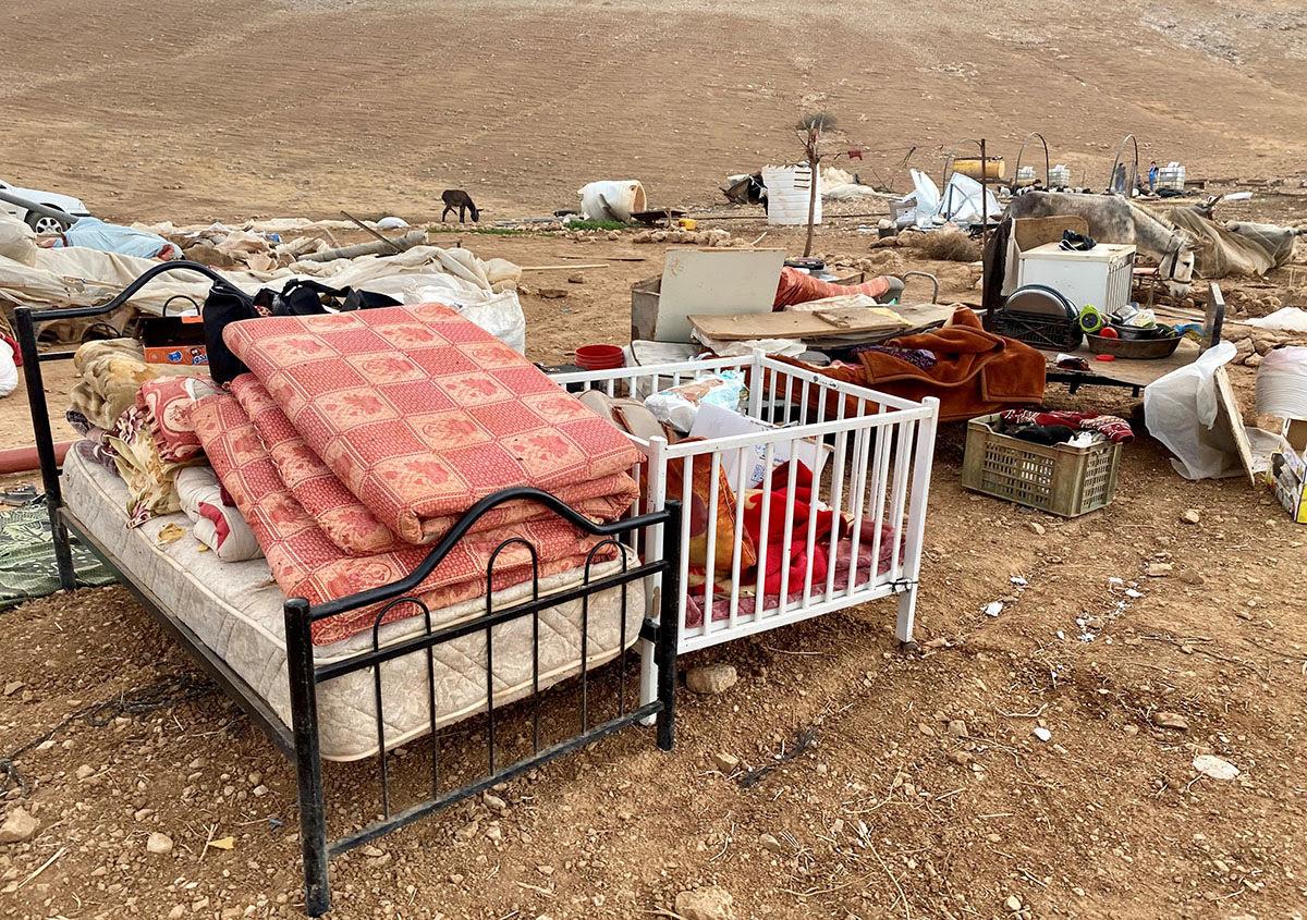 Denuncian a Israel por destruir viviendas palestinas