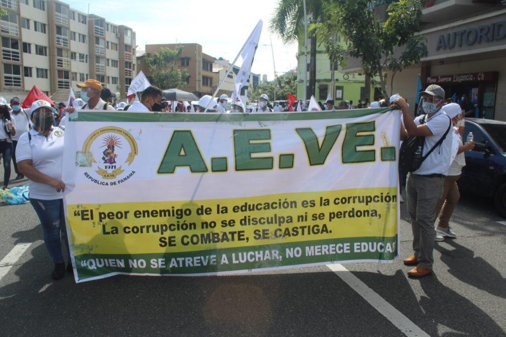 Marcha en Panamá por una educación de calidad