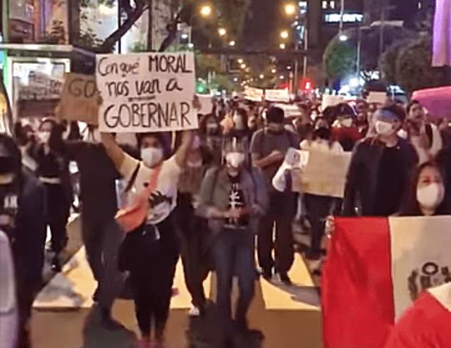 Perú: tras las protestas una persona sigue desaparecida