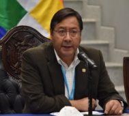 Arce: repudiamos el apoyo del Gobierno de Macri al golpe