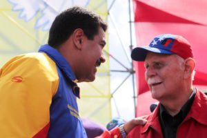 Chávez y José Vicente Rangel