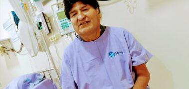 Coronavirus: Evo afirma que se siente «muy bien» de salud