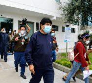 Evo Morales se recupera de Covid-19 y recibe el alta