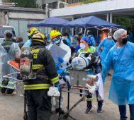 Chile: incendio impacta en el sistema de salud en pandemia