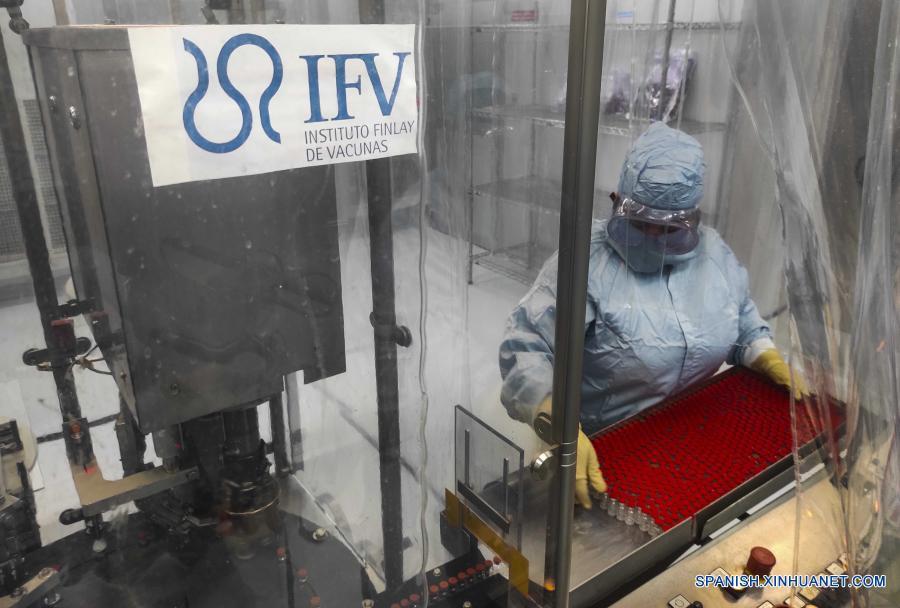 Cuba denunció que el bloqueo impide fabricar más vacunas