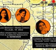 Llega a la ONU el caso de las tres niñas de Paraguay