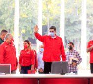 Maduro pide un Partido Socialista más crítico y activo