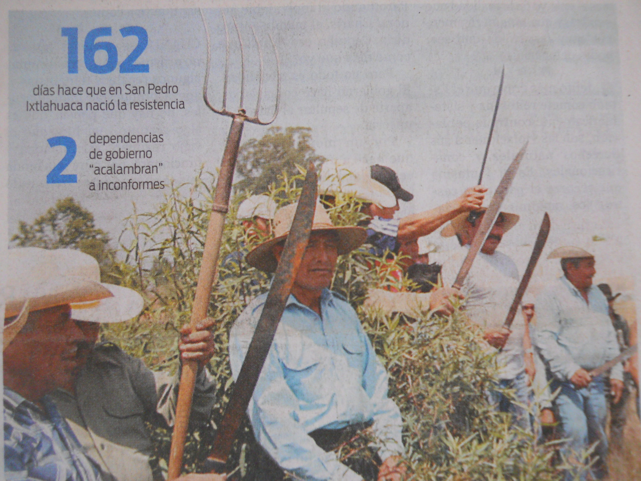 La ruta del despojo en los valles centrales de Oaxaca
