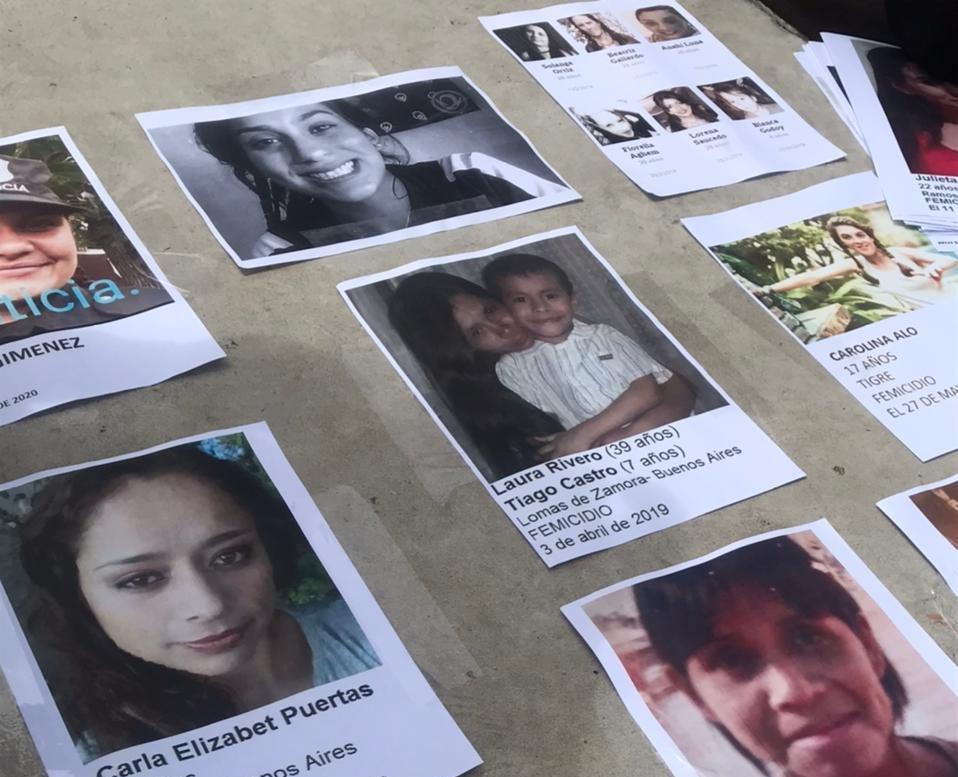 Registran 70 femicidios en el primer trimestre en Argentina