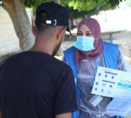 «Mientras Israel vacuna, a Palestina no llega nada»