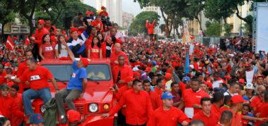 """""""Chávez nunca se irá porque Chávez es este pueblo"""""""
