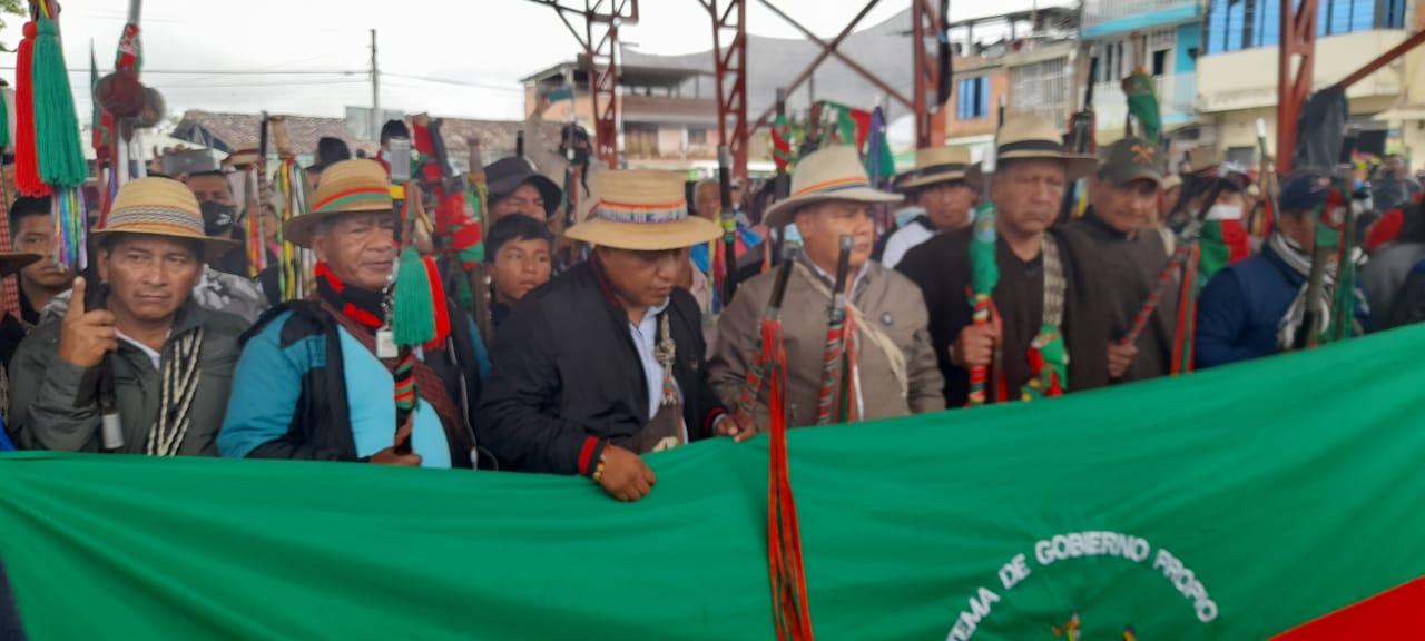 Indígenas reafirman su apoyo al paro nacional en Colombia